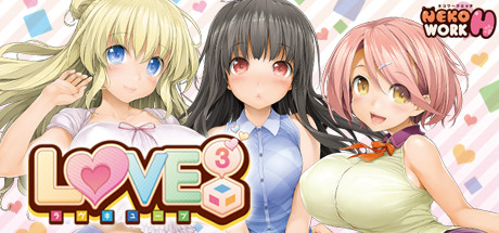 LOVE³ Love Cube Free Download PC Game
