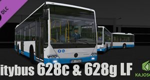 OMSI 2 Add on Citybus 628c & 628g LF Download Free PC Game